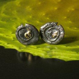 Photo of Crusty Stud Earrings