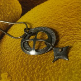 Photo of Dark Silver Pendanct Necklace