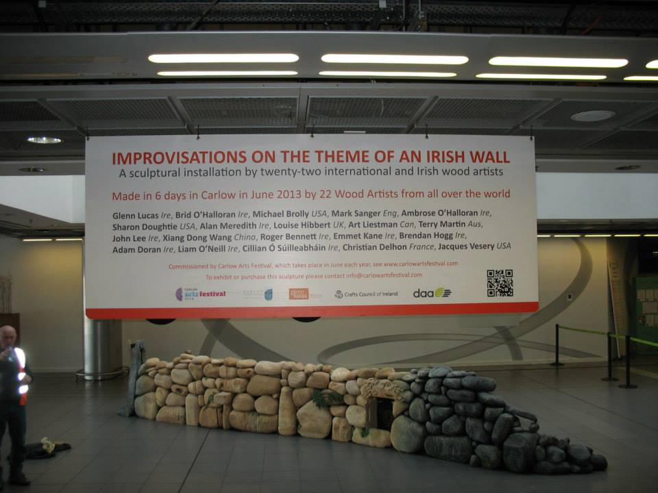 The Wall at Dublin Airport!