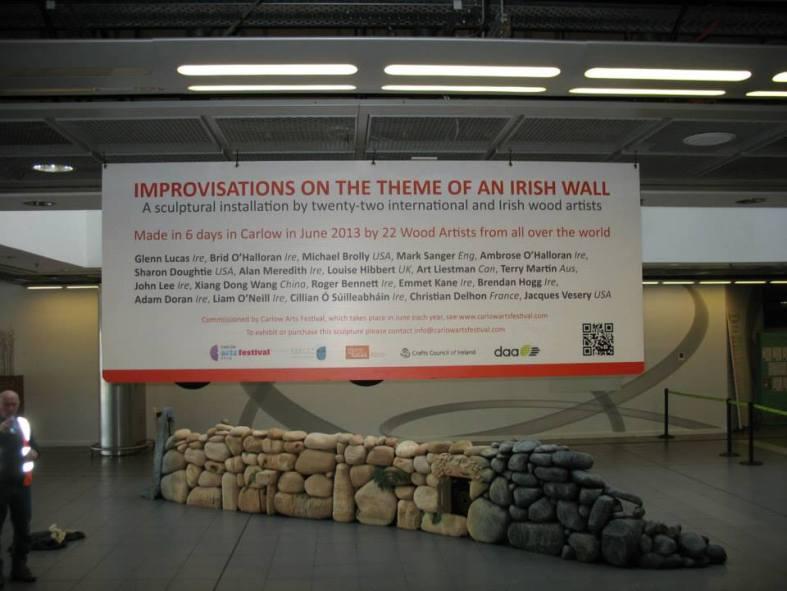 The Wall at Dublin Airport!