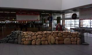 the Wall at Dublin airport