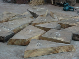 blocks for the first collaborative piece