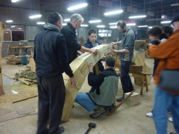 the arch building team