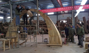 Putting the arch together