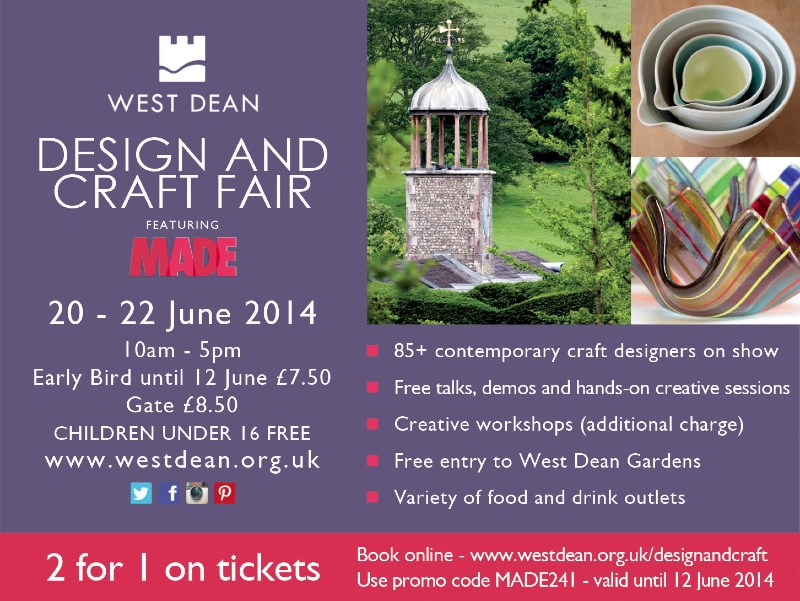 West Dean College Craft and Design Fair featuring MADE