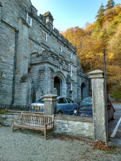 South entrance of Plas Tan y Bwlch