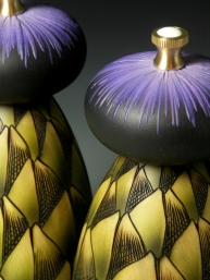 Louise Hibbert Artichoke Salt and Pepper Mills 2